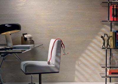 imitace pohledového betonu Pietra Zen křeslo