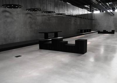 Betonová stěrka  Metrostone podlaha