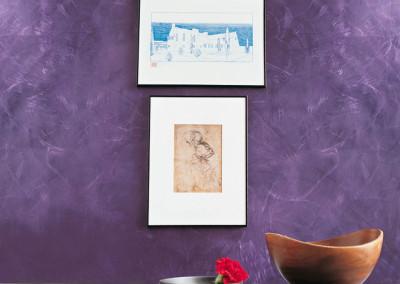 benátský štuk I colori di Londra violet S1SV